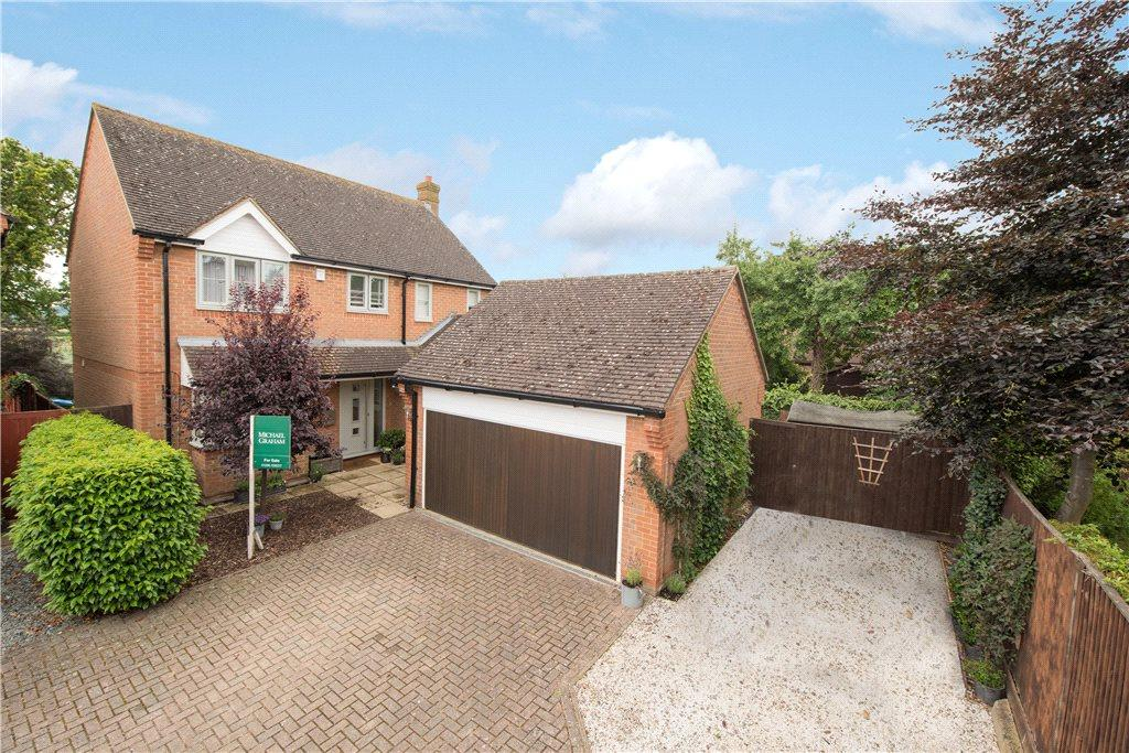 4 Bedrooms Detached House for sale in Mallets End, Quainton, Aylesbury, Buckinghamshire