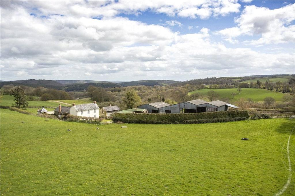 4 Bedrooms Farm House Character Property for sale in Deerfold, Birtley, Bucknell, Herefordshire, SY7