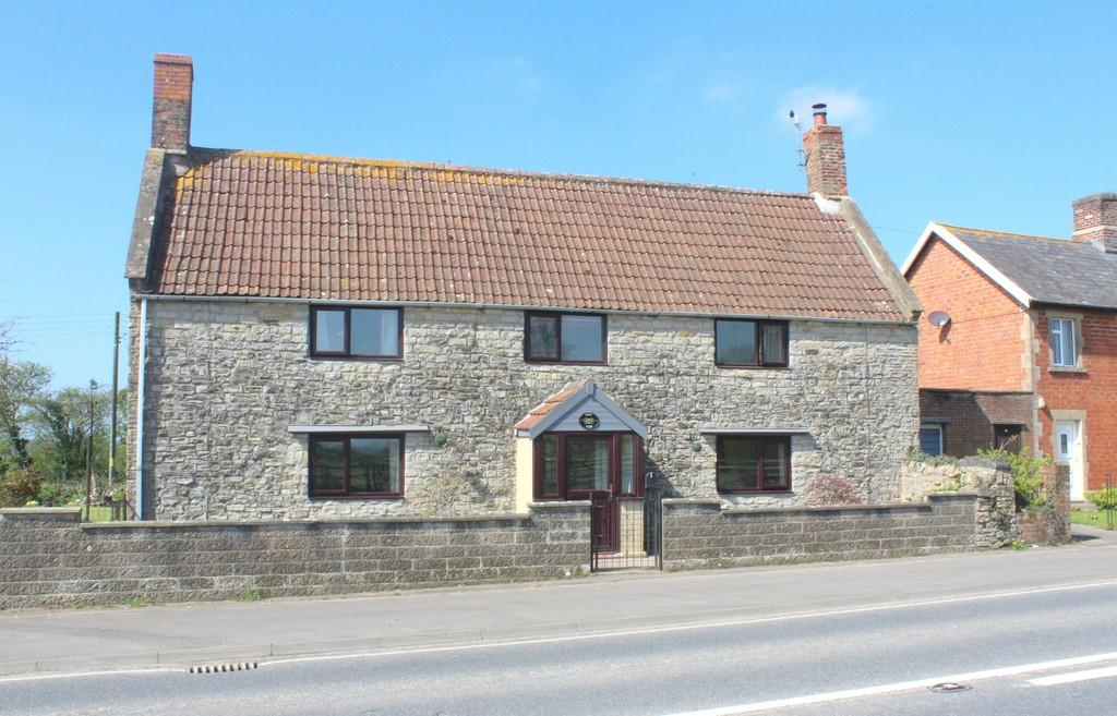 4 Bedrooms Detached House for sale in Pylle, Shepton Mallet