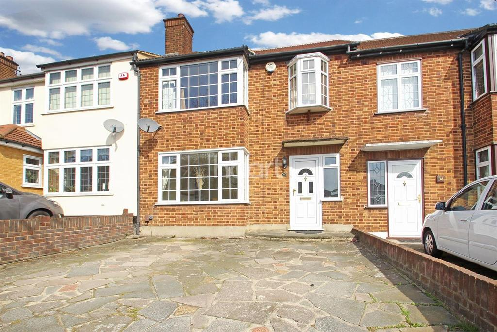 3 Bedrooms Terraced House for sale in The Ridgeway, Gidea Park