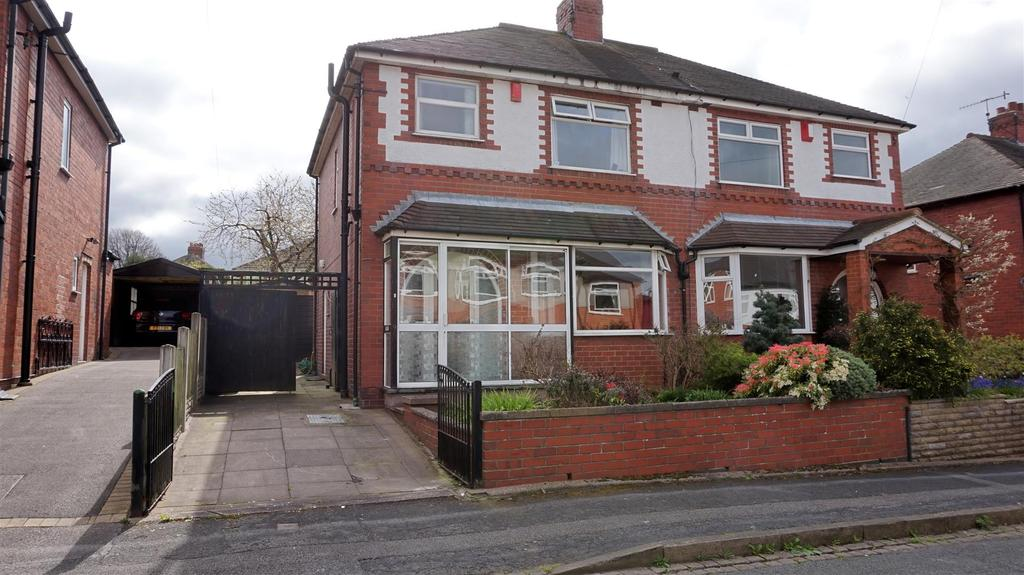 3 Bedrooms Semi Detached House for sale in Fairfield Avenue, May Bank, Newcastle