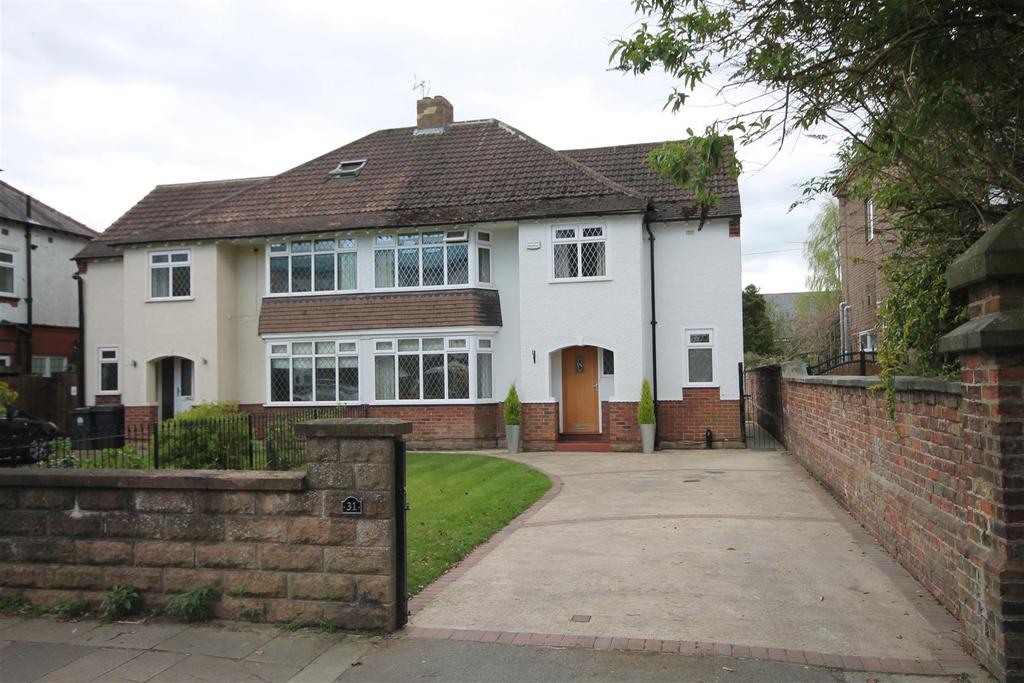 4 Bedrooms Semi Detached House for sale in Abbey Road, Darlington