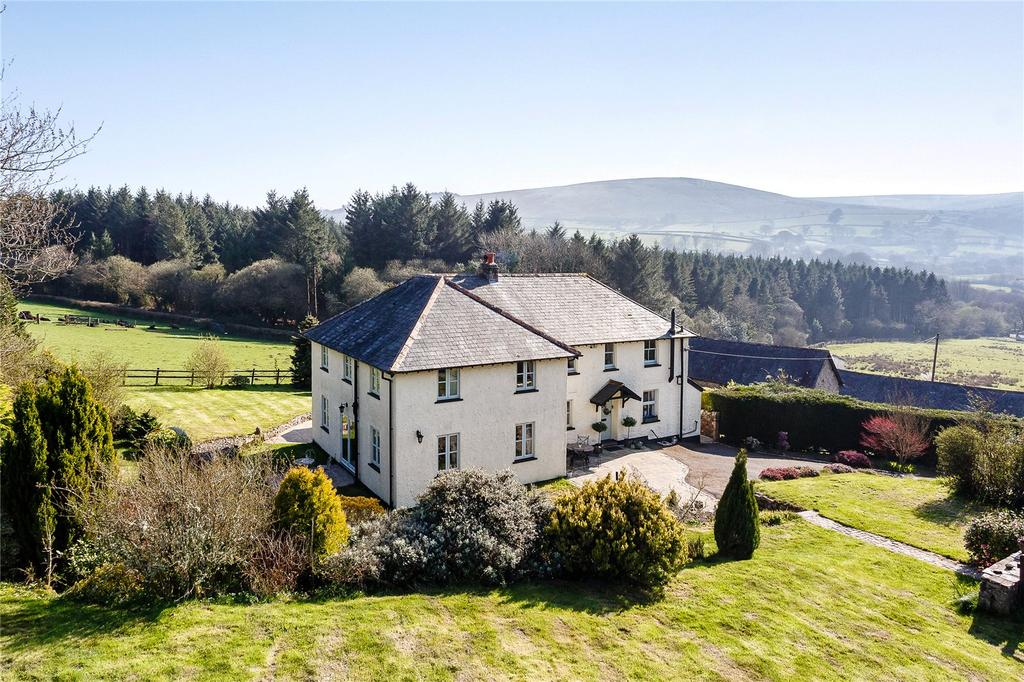 5 Bedrooms Equestrian Facility Character Property for sale in North Bovey, Newton Abbot, Devon