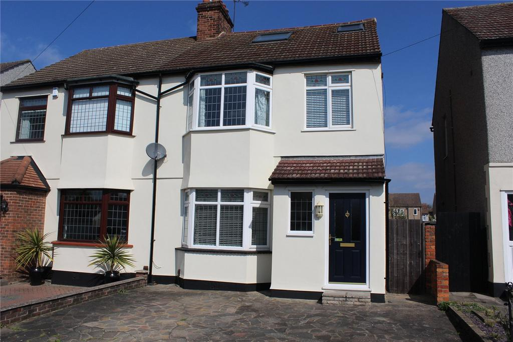4 Bedrooms Semi Detached House for sale in Dawes Avenue, Hornchurch, RM12