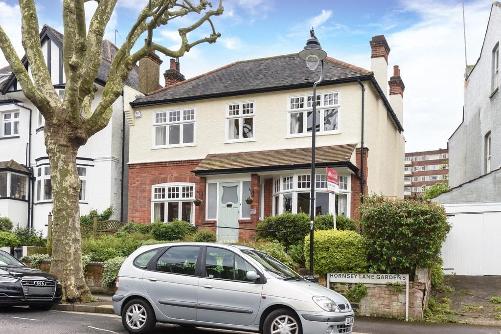 4 Bedrooms Detached House for sale in Hornsey Lane Gardens, Highgate