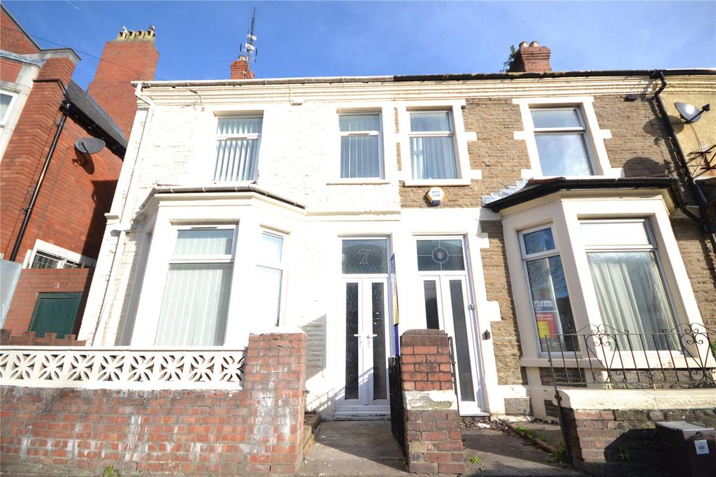 5 Bedrooms End Of Terrace House for sale in Strathnairn Street, Roath, Cardiff, CF24