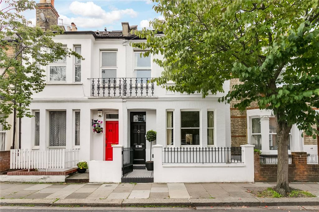 5 Bedrooms Terraced House for sale in Kinnoul Road, Hammersmith, London