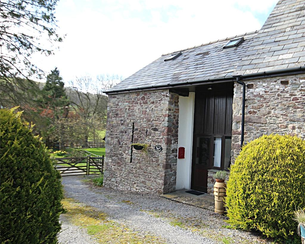 2 Bedrooms Barn Conversion Character Property for sale in Tylegarw, Defynnog, Brecon, Powys