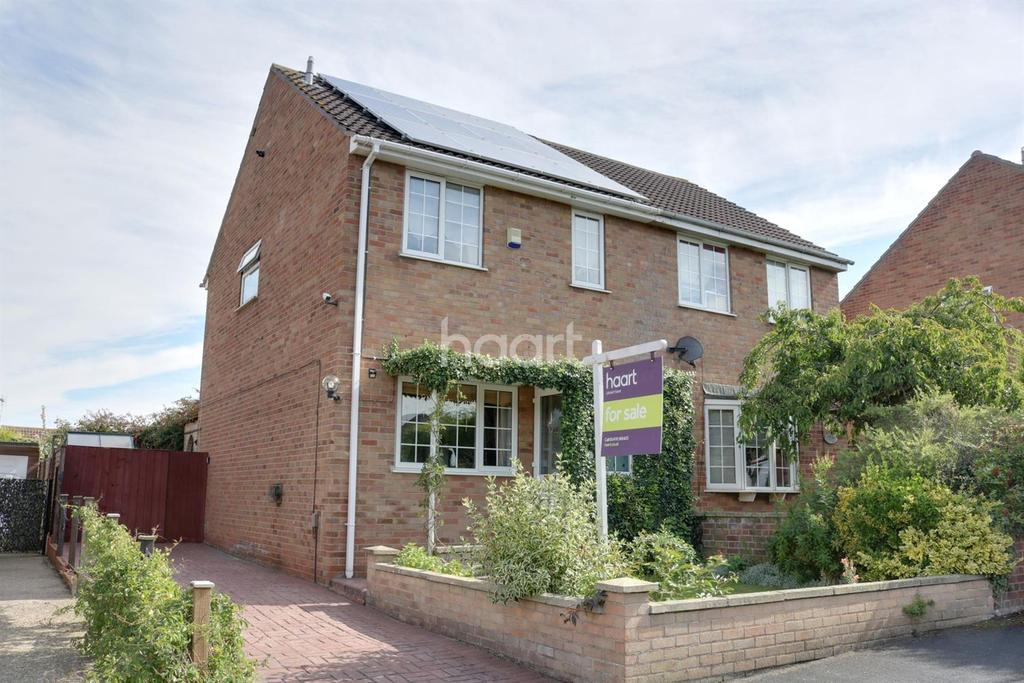 3 Bedrooms Semi Detached House for sale in Fourth Avenue, Grantham, NG31 9TS