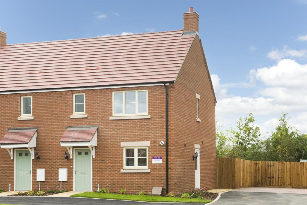 3 Bedrooms Semi Detached House for sale in Plot 10 Poets Place, Stratford Upon Avon