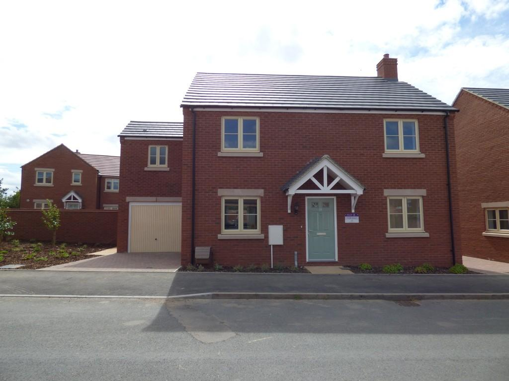 4 Bedrooms Detached House for sale in Plot 3 Poets Place, Stratford Upon Avon