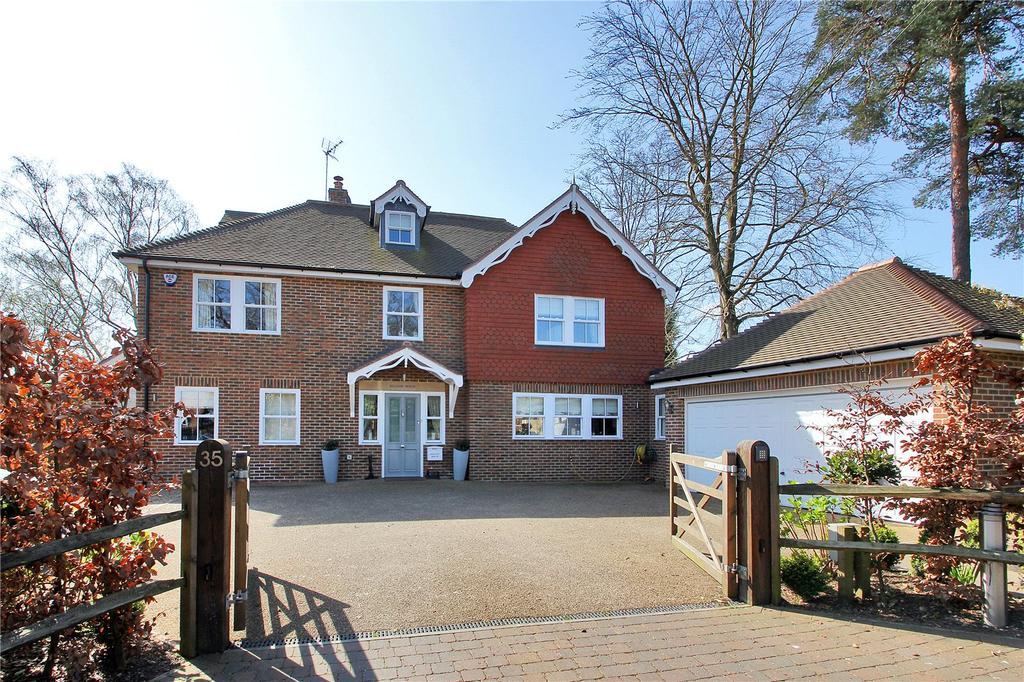 5 Bedrooms Detached House for sale in Mount Harry Road, Sevenoaks, Kent