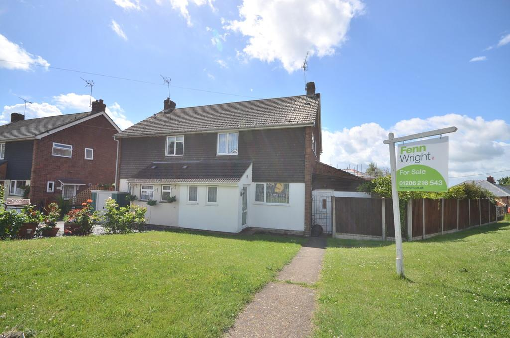 3 Bedrooms Semi Detached House for sale in Valley Crescent, West Bergholt