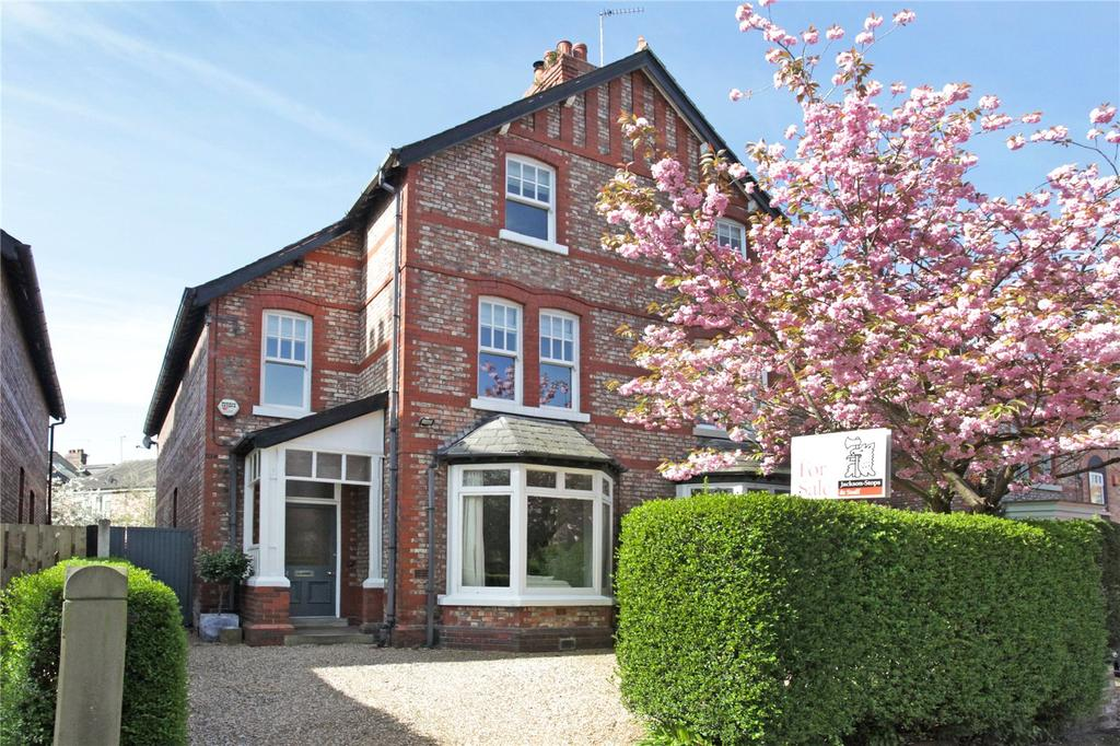 4 Bedrooms Semi Detached House for sale in Trafford Road, Alderley Edge, Cheshire, SK9