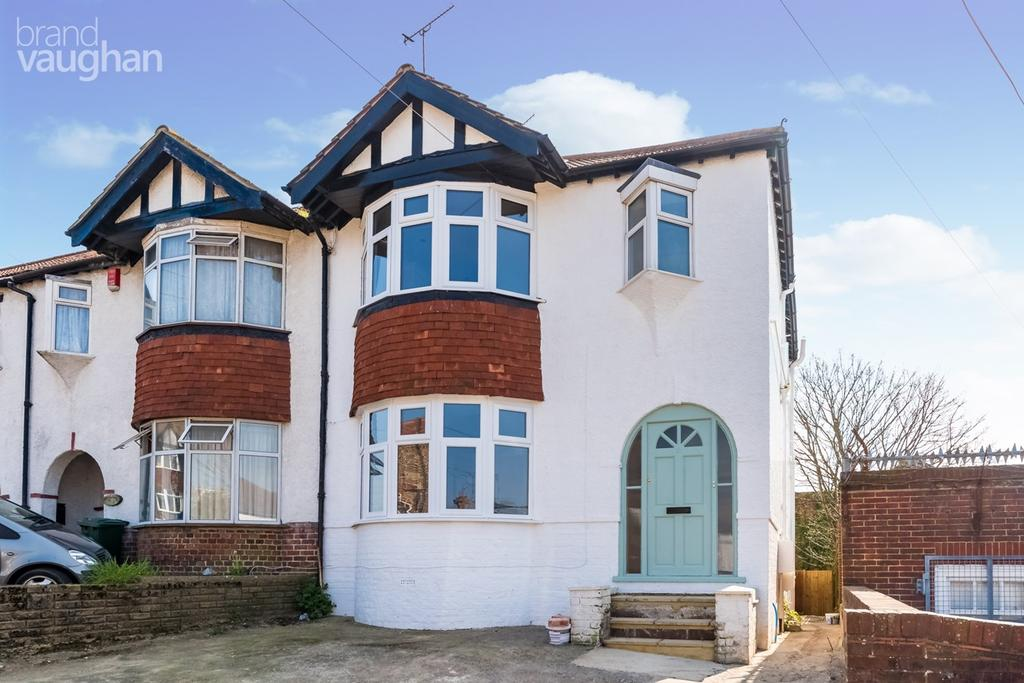 3 Bedrooms Maisonette Flat for sale in Marlow Road, Brighton, BN2