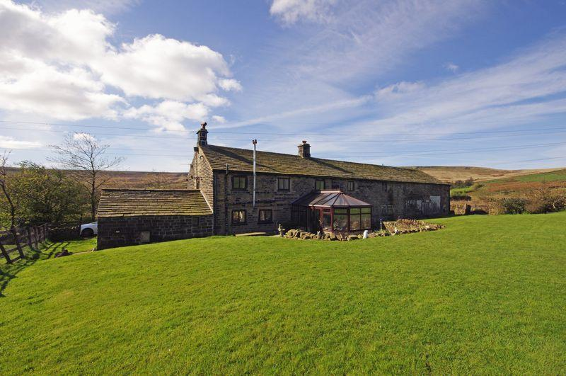 4 Bedrooms Detached House for sale in Parrock Nook Farm, Long Causeway, Rishworth, HX6 4RF
