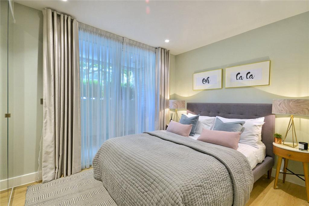 2 Bedrooms Flat for sale in St Martins Walk, Vicars Road, London, NW5