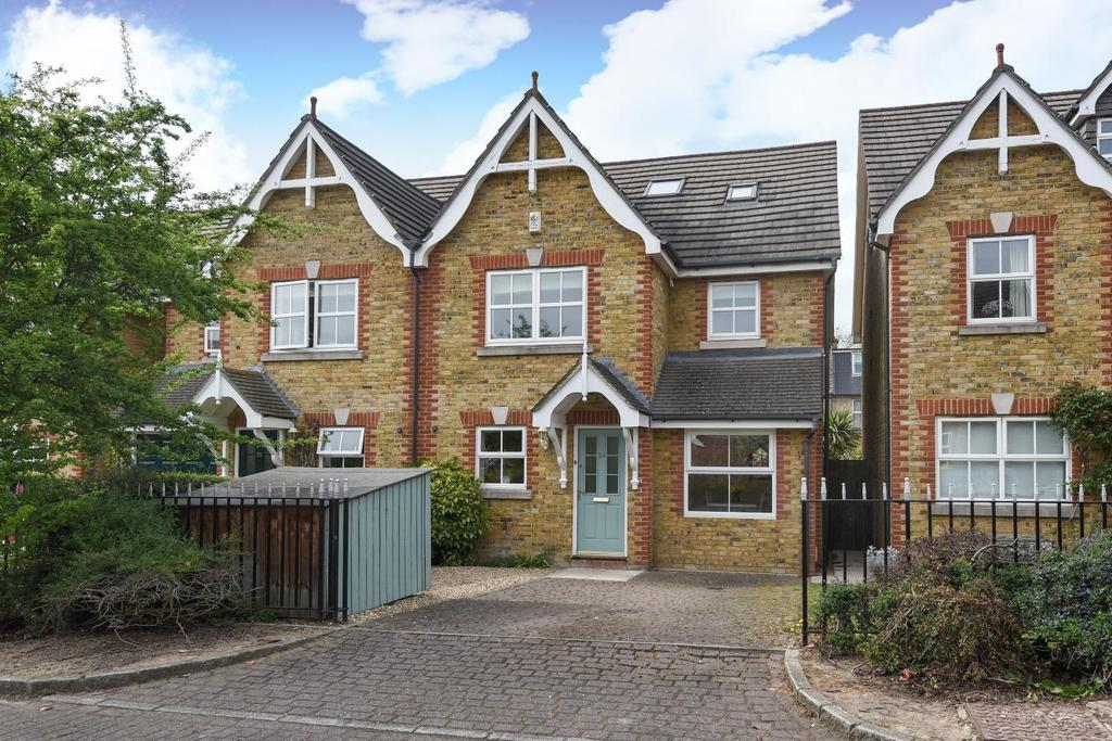 4 Bedrooms Terraced House for sale in Victoria Mews, Earlsfield, SW18