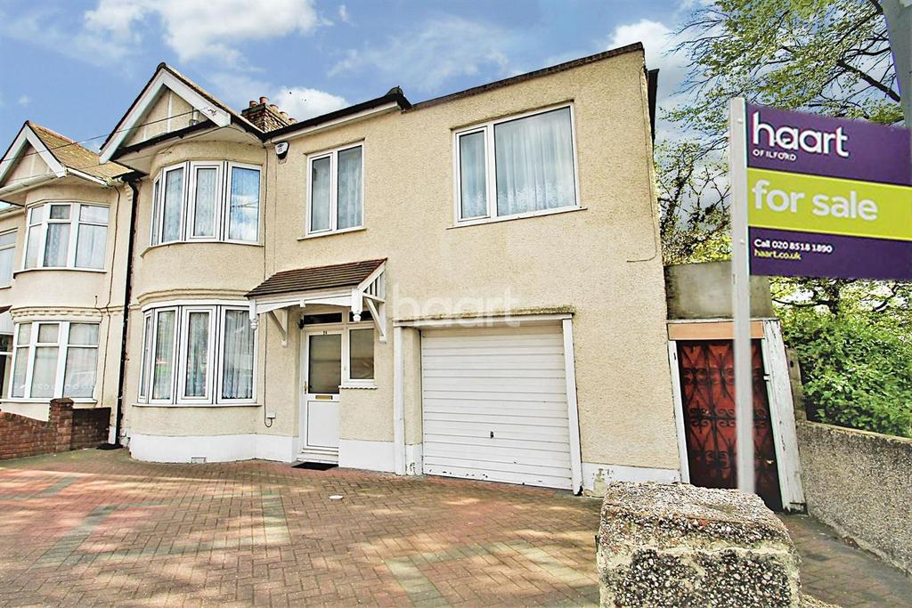 4 Bedrooms End Of Terrace House for sale in Loxford Lane, Ilford, Essex