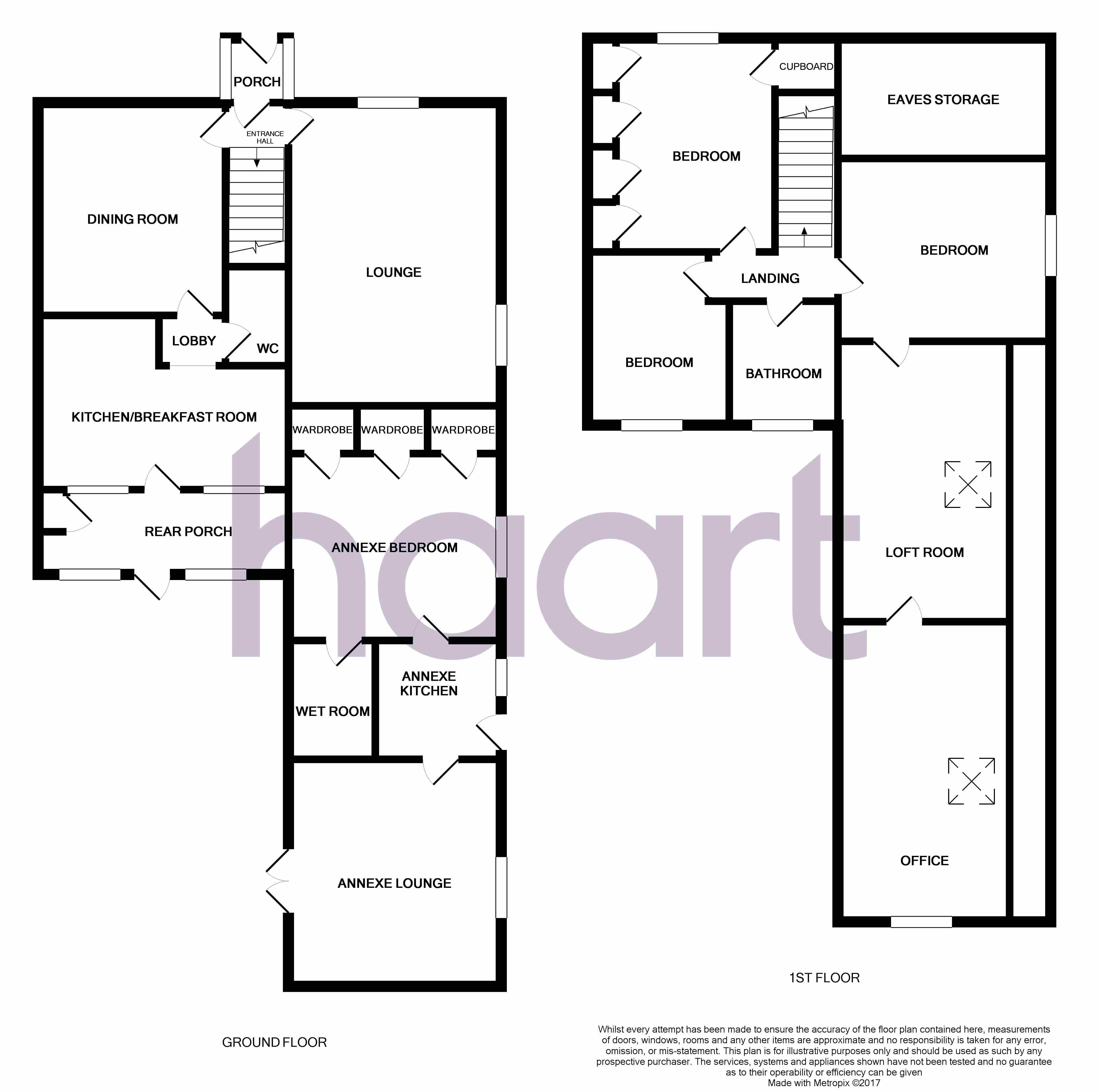 5 bedroom semi detached house floor plans house interior for Semi detached house floor plan