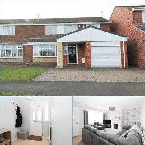4 bedroom semi-detached house for sale - Porchester Drive, Eastfield Chase, Cramlington
