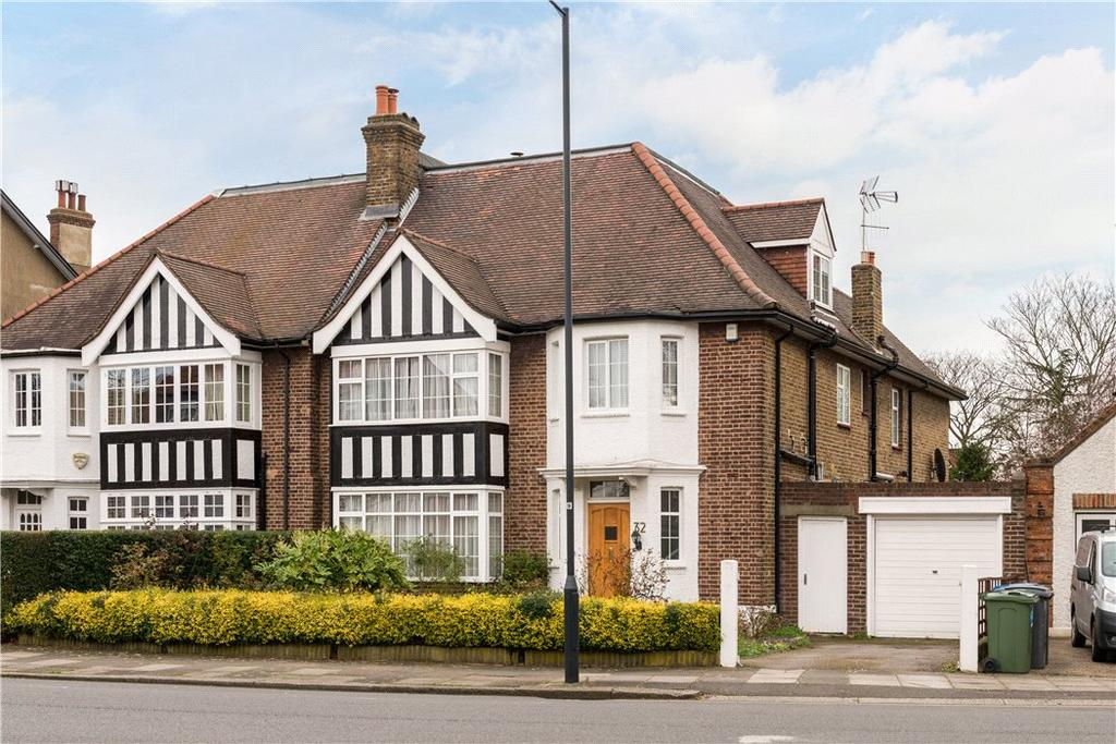4 Bedrooms Semi Detached House for sale in Aylestone Avenue, Queen's Park, London, NW6