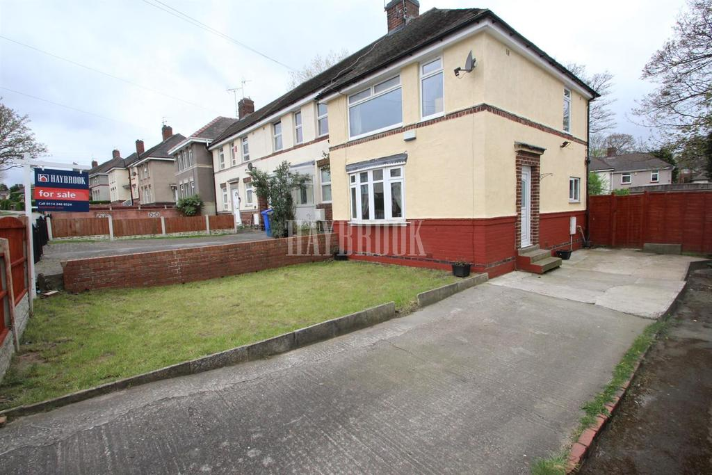 3 Bedrooms End Of Terrace House for sale in Hartley Brook Road, Shiregreen