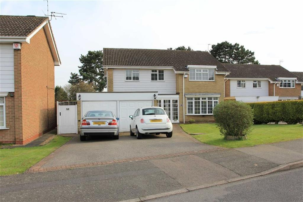 4 Bedrooms Detached House for sale in The Yews, Oadby, Leicester