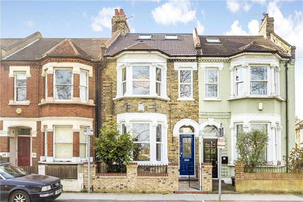 4 Bedrooms Terraced House for sale in Quicks Road, London, SW19