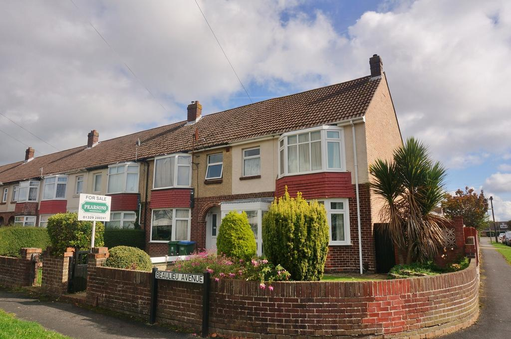 3 Bedrooms End Of Terrace House for sale in BEAULIEU AVENUE, FAREHAM