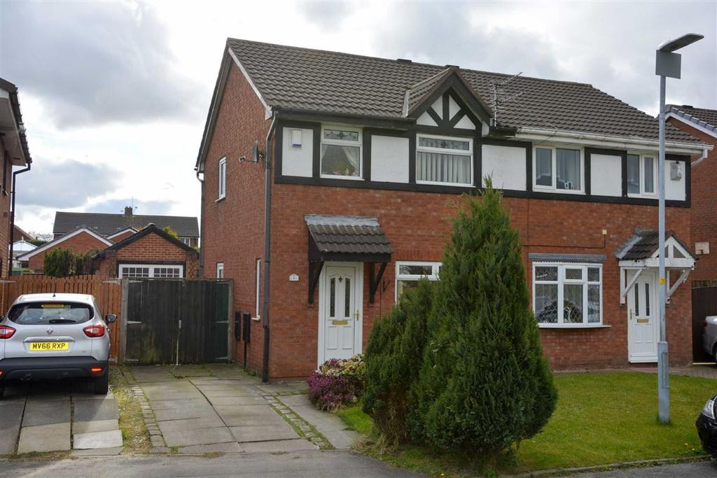 3 Bedrooms Semi Detached House for sale in St. Marys Close, Aspull, Wigan, WN2