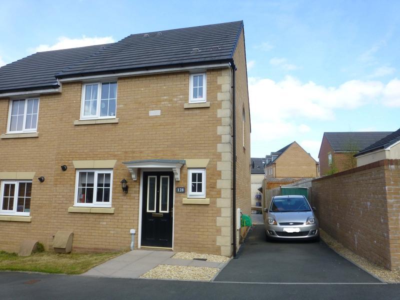 3 Bedrooms Semi Detached House for sale in Ffordd Y Glowyr , Betws, Ammanford, Carmarthenshire.