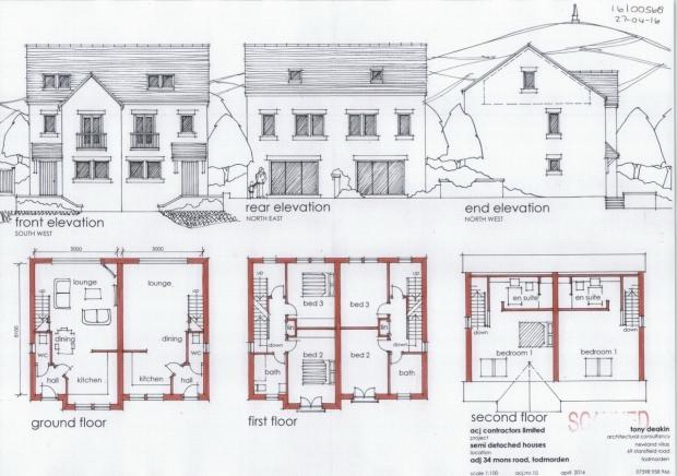 3 Bedrooms Semi Detached House for sale in Mons Road Todmorden
