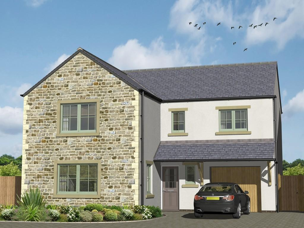 4 Bedrooms Detached House for sale in Plot 8 The Sheiling, Arkholme, Lune Valley, Lancashire LA6 1BA