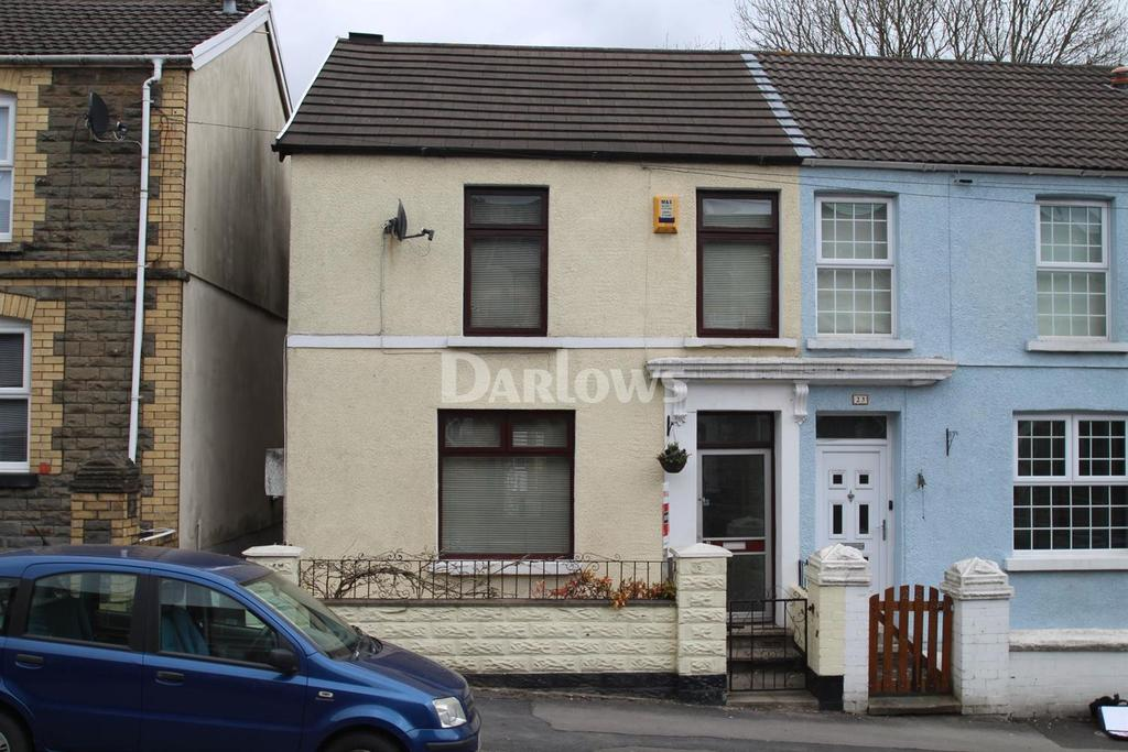 3 Bedrooms Semi Detached House for sale in Gwaelodygarth, Merthyr Tydfil