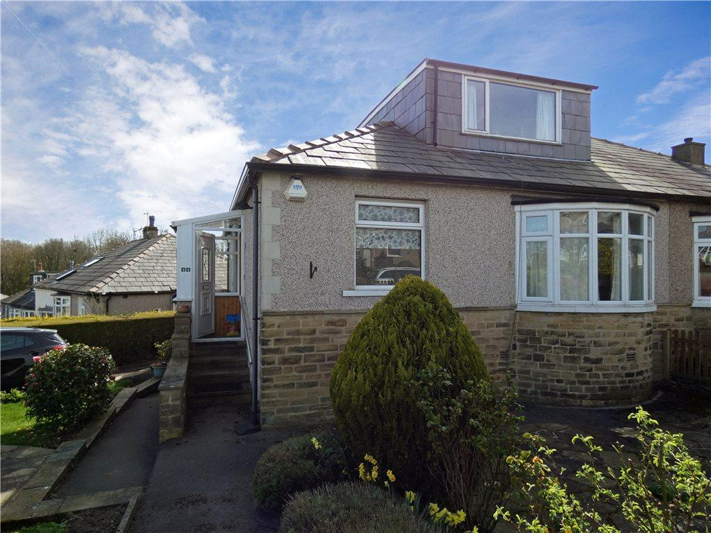 3 Bedrooms Semi Detached Bungalow for sale in Temple Rhydding Drive, Baildon, West Yorkshire