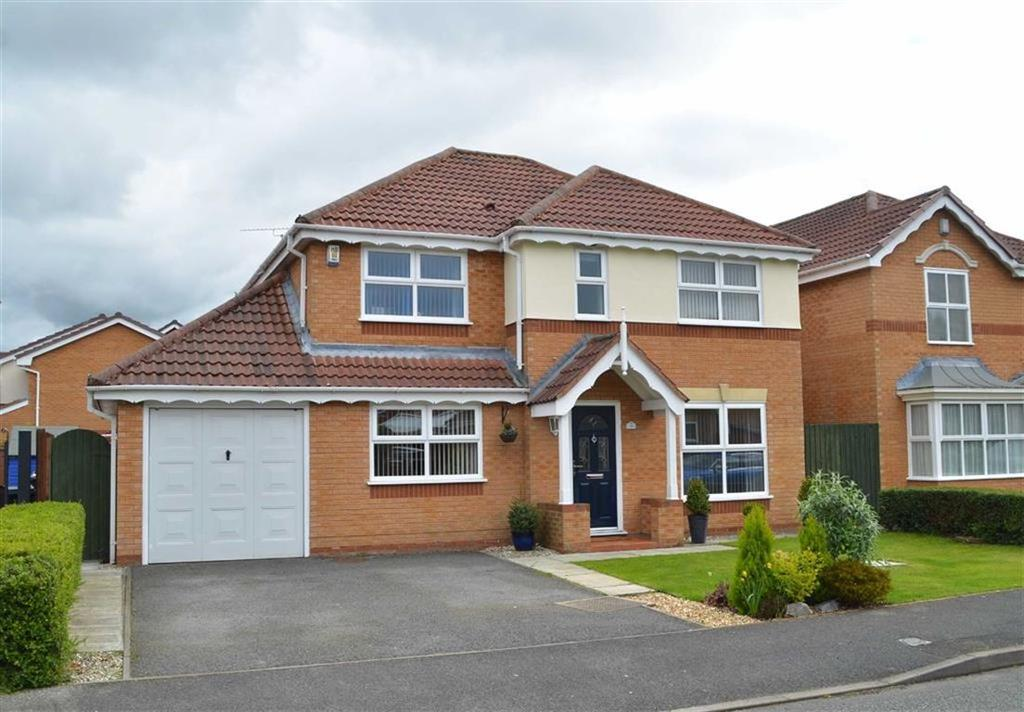 4 Bedrooms Detached House for sale in Lundy Drive, Stanney Oaks, Ellesmere Port