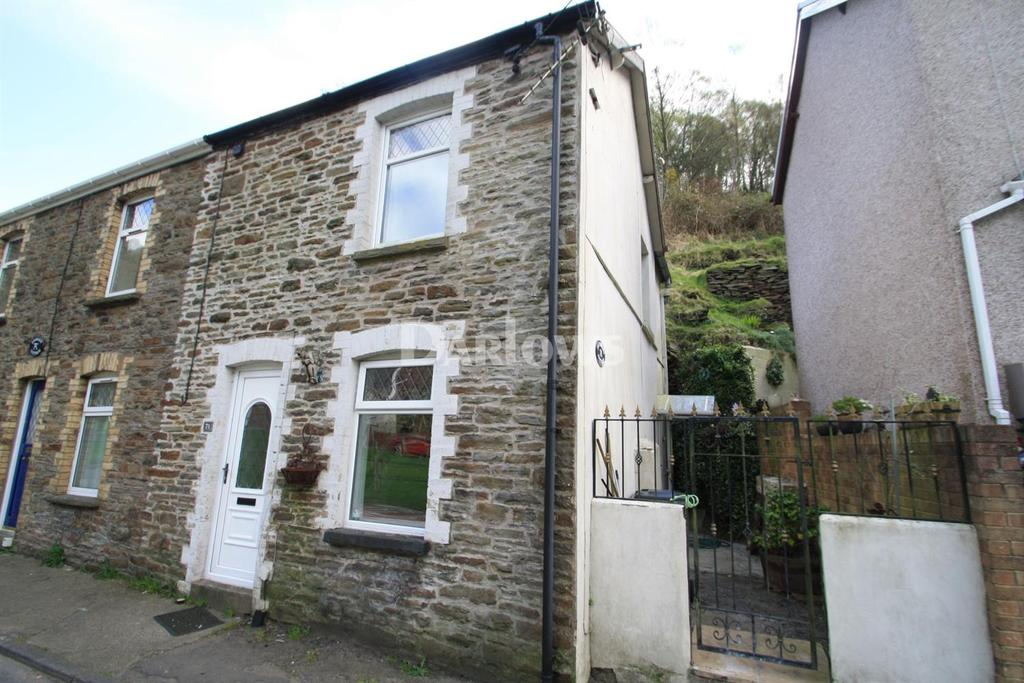 2 Bedrooms Semi Detached House for sale in Blaencuffin Road, Llanhilleth, Abertillery, Gwent