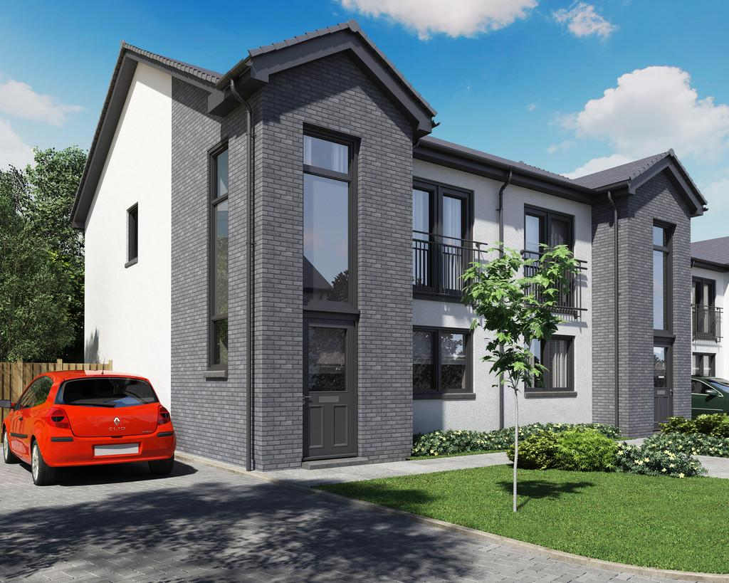 3 Bedrooms Semi Detached House for sale in Napierston Gate, Alexandria, G83 9EE
