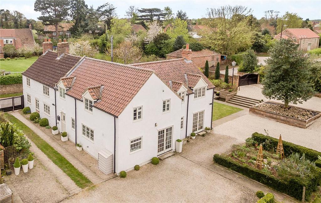 5 Bedrooms Detached House for sale in Spring Garth, Back Lane, Little Ouseburn, York, YO26