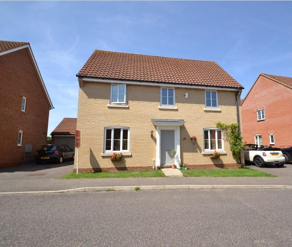 4 Bedrooms Detached House for sale in Beckside, Horsford
