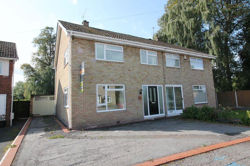 3 Bedrooms Semi Detached House for sale in Priory Close, Wellington, Telford