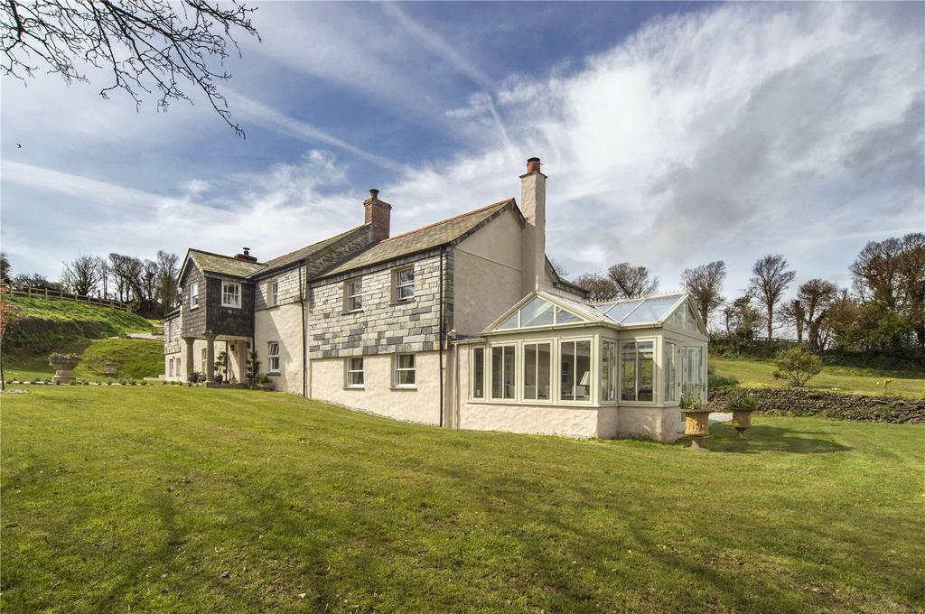 6 Bedrooms Unique Property for sale in Portholland, Tregony, Truro, Cornwall, TR2