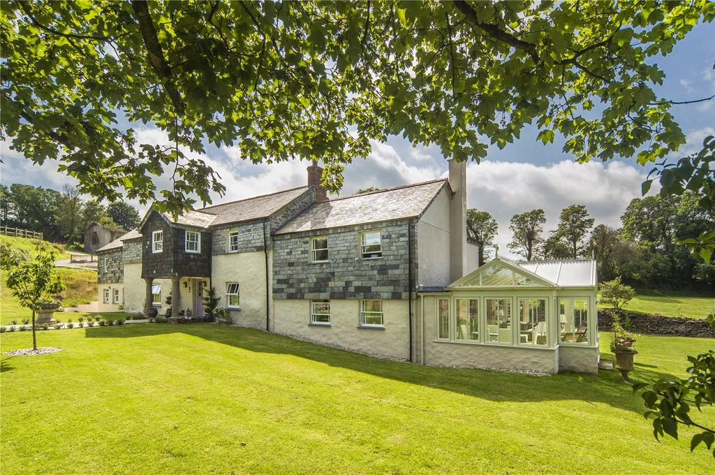 6 Bedrooms Unique Property for sale in Caerhays, Near Tregony, The Roseland, Cornwall, TR2