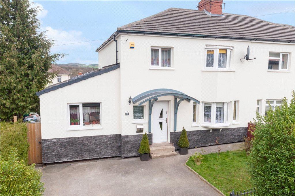 4 Bedrooms Semi Detached House for sale in Colbert Avenue, Ben Rhydding, Ilkley, West Yorkshire