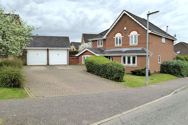 4 Bedrooms Detached House for sale in Hunsbury Hill Avenue, Hunsbury Hill, Northampton, NN4
