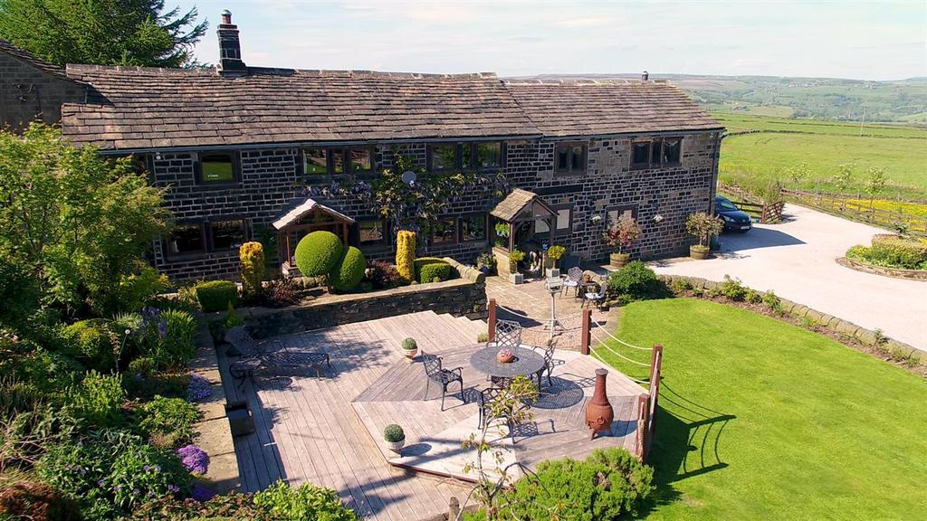 4 Bedrooms Farm House Character Property for sale in Moor End Farm, Steep Lane, Sowerby Bridge