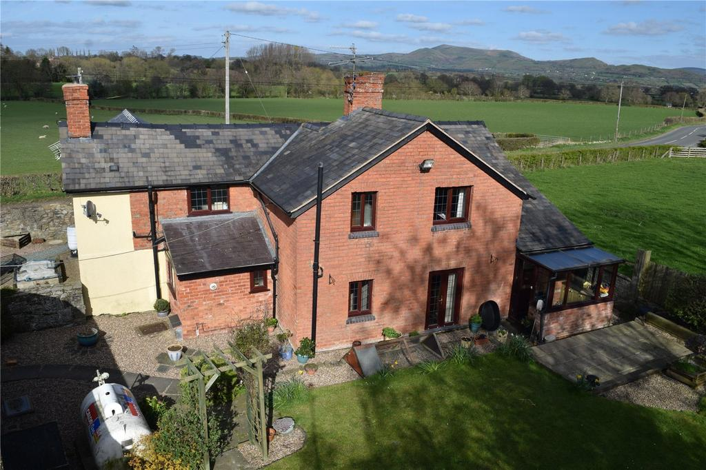 4 Bedrooms Detached House for sale in Montgomery, Powys