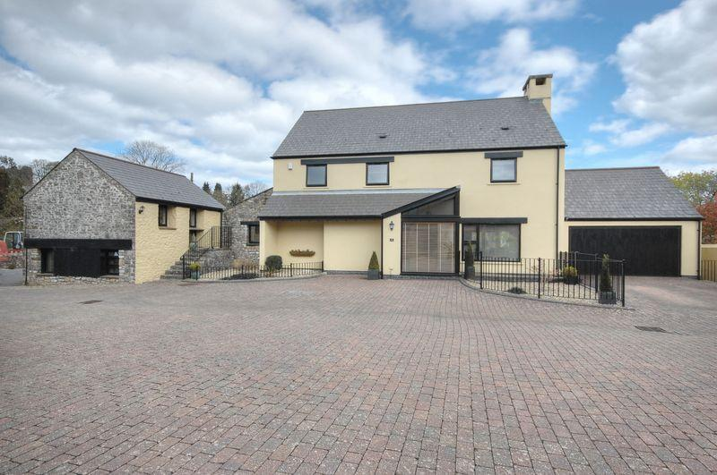 5 Bedrooms Detached House for sale in 4 Llanblethian Court, Llanblethian, Cowbridge, Vale of Glamorgan CF71 7JZ