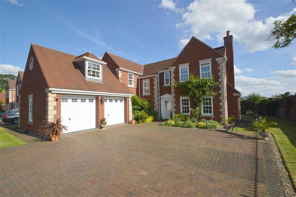 4 Bedrooms Detached House for sale in Davenport House, 1, Orchard Park, Maesbrook, SY10